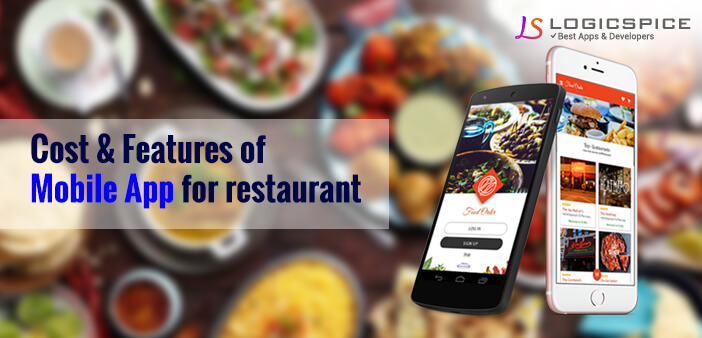 Cost and Features of Mobile App for Restaurant