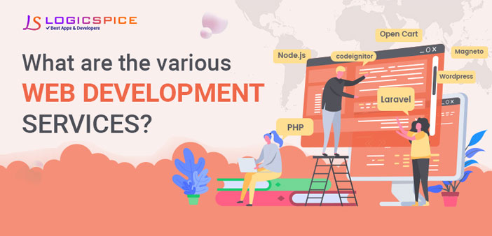 What are the various web development services?