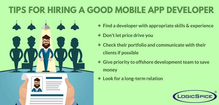 5 Tips For Hiring A Good Mobile App Developer