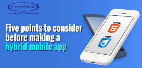 5 Points To Consider Before Making A Hybrid Mobile App