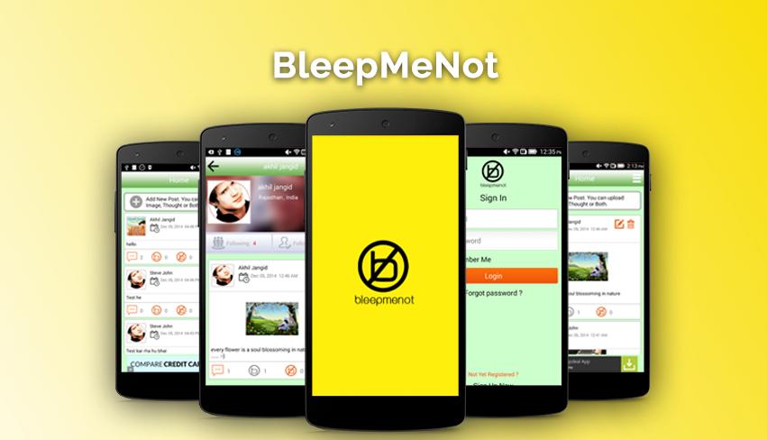 BleepMeNot
