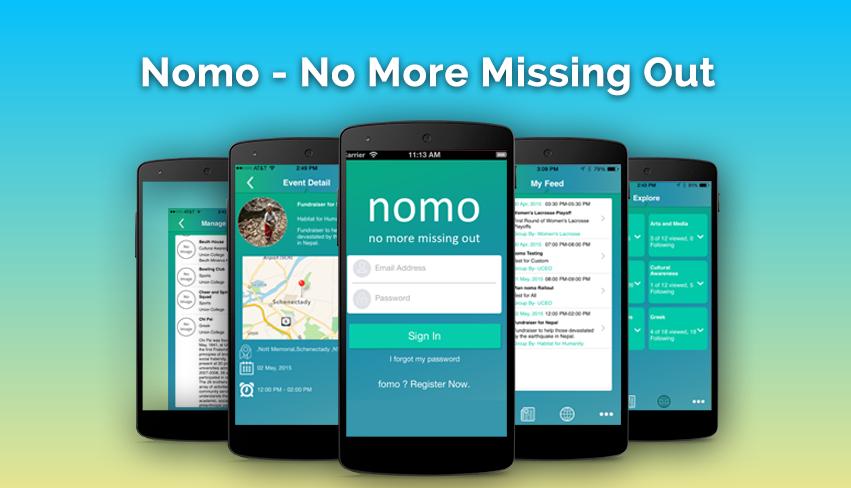 Nomo: Social Event App