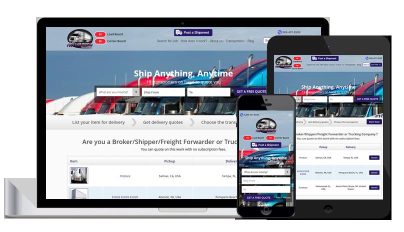 Loadboard Trucking21-logicspice