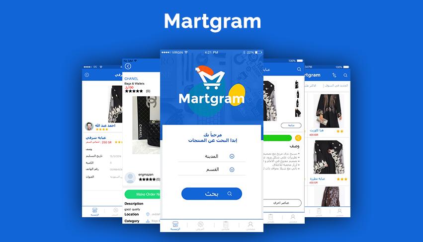 Marketplace App: Martgram