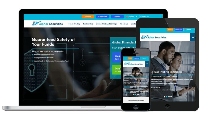 Cipherforex - informational website-logicspice