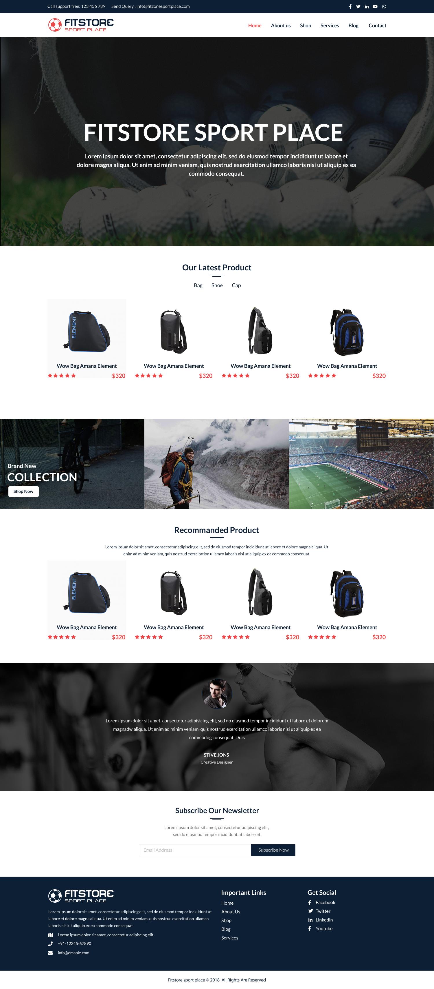 sport html