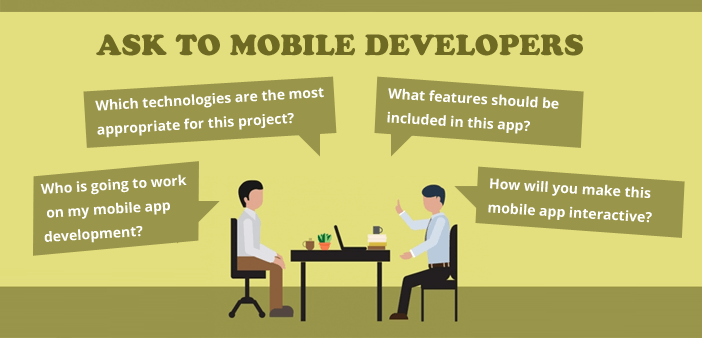 Questions to ask before hiring mobile app developer