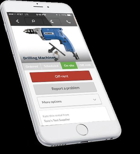 Equipment Rental System Mobile Application
