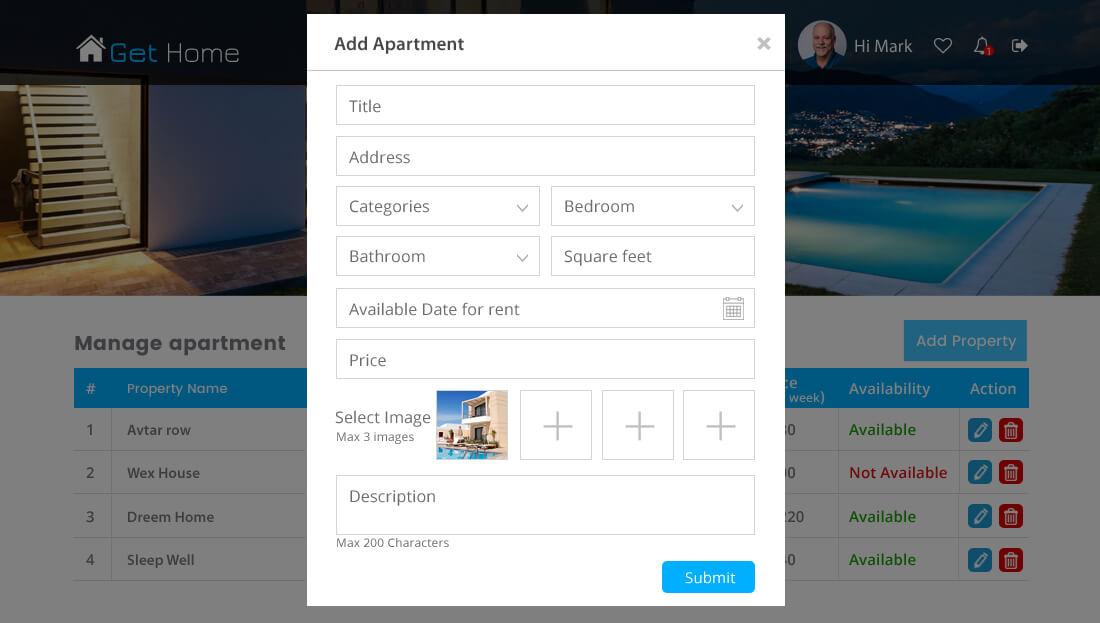Property Rental Script - Post Apartment