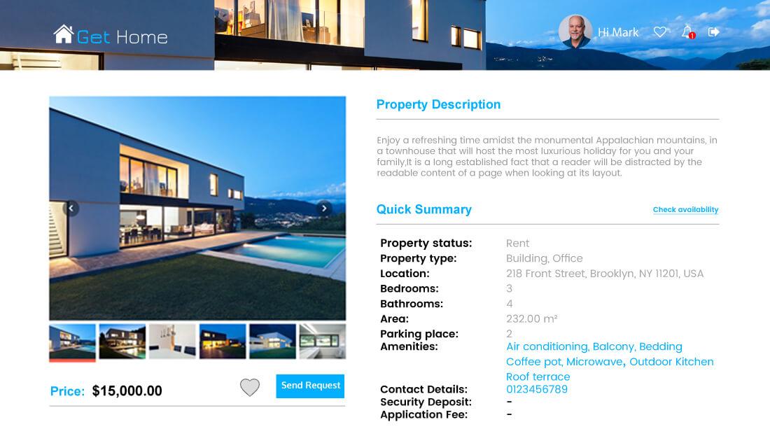 Property Rental Script - property Detail