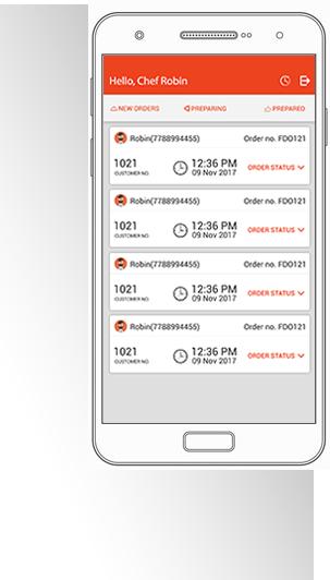 Food Ordering System : Restaurant Owner App