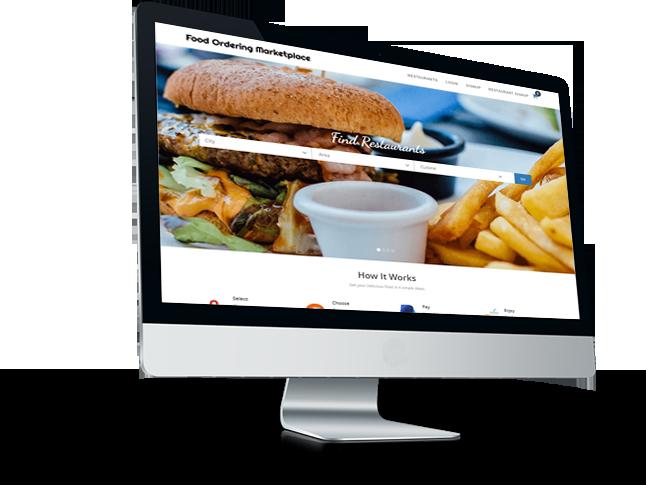 Food Ordering System Website