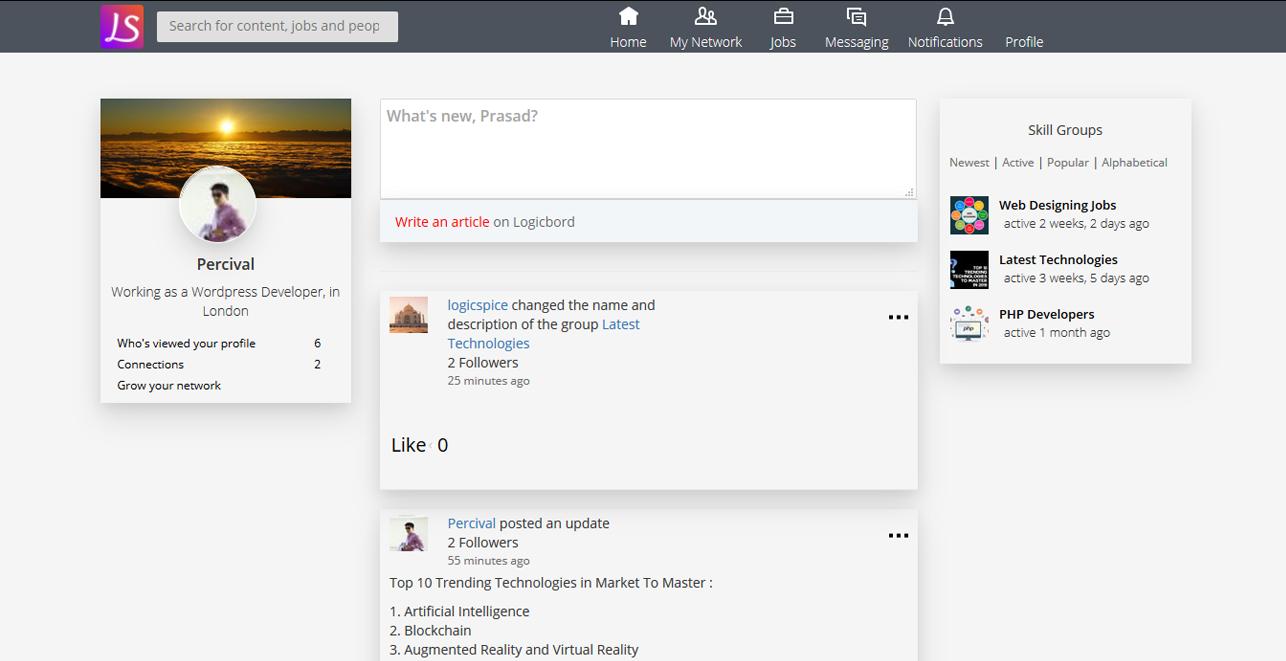linkedin_clone_Profile